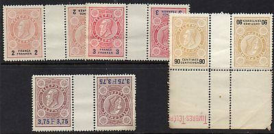 BELGIUM  TELEPHONE STAMPS  FOUR VALUES in *** M N H *** TETE-BECHE PAIRS