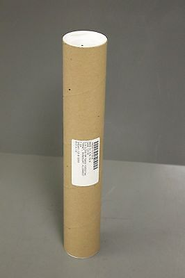 "S-12003 ULINE 2.5"" x 15"" Kraft Cardboard Tube with End Cap Mailing Tube"
