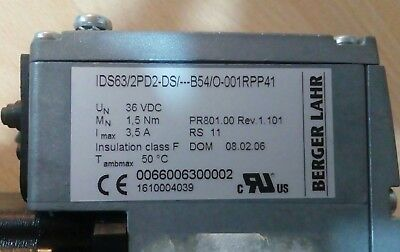Berger Lahr IDS63/2PD2-DS/ ...  B54/O-001RPP41