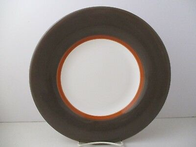 "Royal Doulton Jubilee Dinner Plate- Brown 10 7/8""- 1106J"