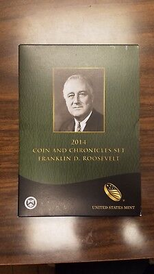2014 FRANKLIN D. ROOSEVELT COIN AND CHRONICLES SET  Free Shipping!