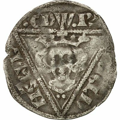 [#509352] Coin, Ireland, Edward I, Penny, Waterford, EF(40-45), Silver