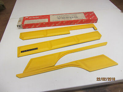 VESPA PX 125 PX 200  MID 80s MUDGUARD AND PANEL TRIM SET BY ARIETE   BOXED