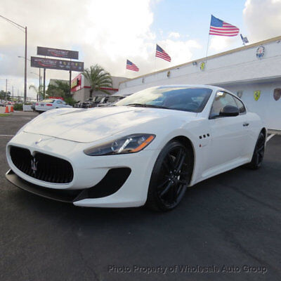 2013 Maserati Gran Turismo 2dr Coupe MC Stradale FULLY LOADED. ONE OWNER CARFAX CERTIFIED. MUST SEE. NATIONWIDE SHIPPING