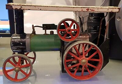 Vintage Early Mamod TE1 Traction Engine, Complete and Working.