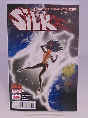 Silk #7 1St Print Secret Wars Marvel Comics Vf/Nm Cb835