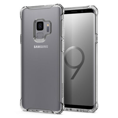 For Galaxy S9 / S9 Plus | Spigen® [Rugged Crystal] Slim Bumper Case Cover
