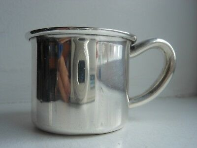 Vintage Sterling Silver 925 Lunt Baby Cup #110