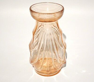 Antique Art Deco Glass Vase