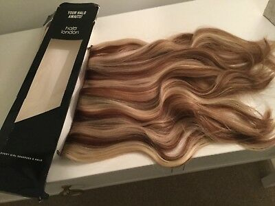 """Halo Mixed Brown Blonde Hair Extensions 16"""""""