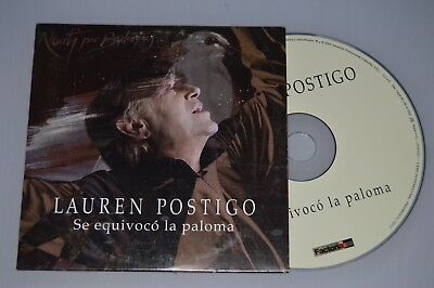 Lauren Postigo - Se equivoco la paloma. CD-SINGLE Promo