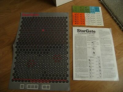 Vintage 1970s SPI Star Gate Role Play Game - Complete with Unpunched Counters