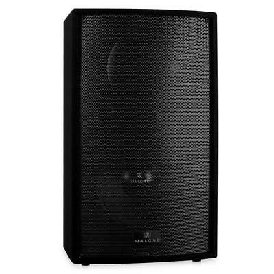 """Malone 15-A Active 15"""" Pa Speaker Karaoke Party Stage Monitor 1500W 2-Way"""