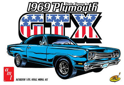 AMT 1/25 Dirty Donny 1969 Plymouth GTX Plastic Model Kit AMT1065