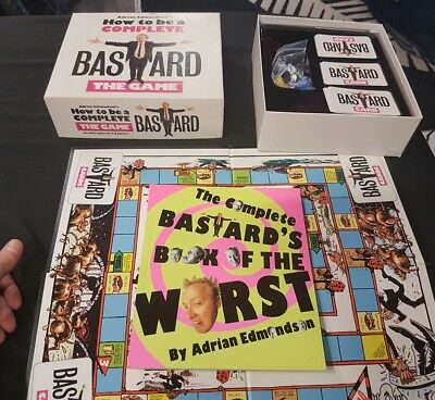 Rare Old  1980S Boardgame How To  Be A Complete Barstard Very Collectible