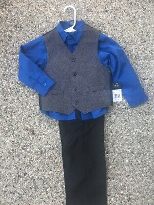 NEW NWT $50 ARROW outfit set lot dress holidaysuit  shirt vest boy sz 5 easter