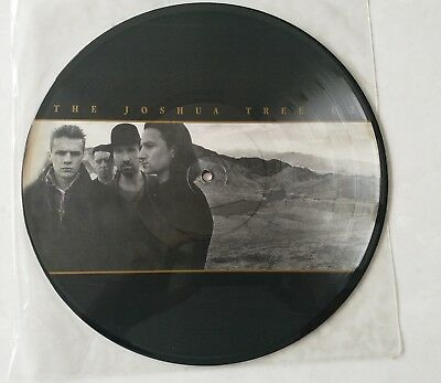 U2 Rare The Joshua Tree Mexican Only Picture Disc.U26 P