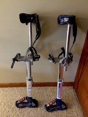 Marshalltown Skywalker 2.0 Drywall Stilts (SW218) 18-30""