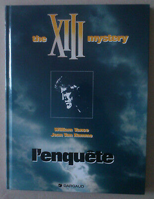 VANCE   ***   THE XIII MYSTERY n°13.  L'ENQUÊTE  ***  NEUF!