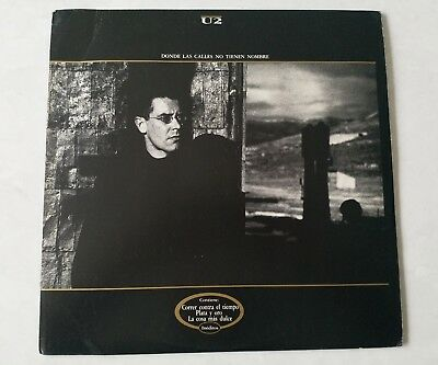 "U2 Very Rare Where The Streets Have No Name Argentinian 12""Promo.TLP-50469"