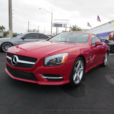 2013 Mercedes-Benz SL-Class 2dr Roadster SL 550 CARFAX CERTIFIED . FULLY LOADED. MINT CONDITION. VIEW IMAGES. CALL 954-744-1177