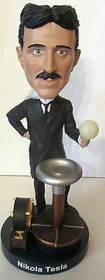 Nikola Tesla Royal Bobbles Figurine Limited Edition Bobblehead