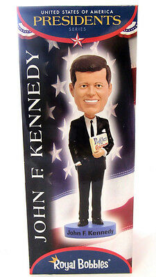 John F Kennedy Royal Bobbles Figurine Usa Presidents Series Limited Bobblehead