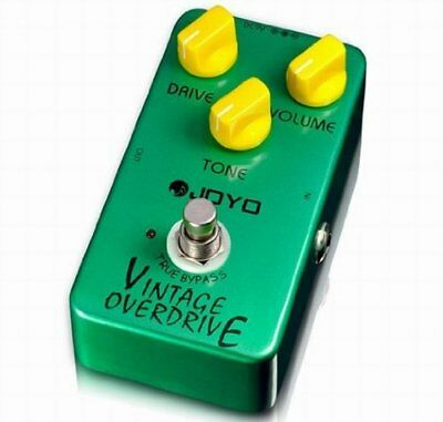 Kmise A1840 Joyo JF 01 Vintage Overdrive Pedal with True Bypass Quality Switch
