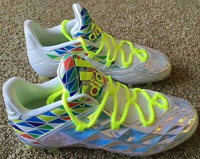 Men's Adidas CrazyQuick Lax Lacrosse Cleat Size 8 New Without Tags No Box