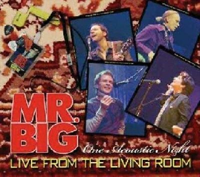 Live from the Living Room MR. BIG CD ( FREE SHIPPING)