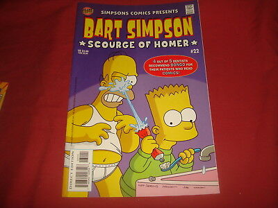 BART SIMPSON #22  The Simpsons Bongo Comics USA EDITION 2005  NM