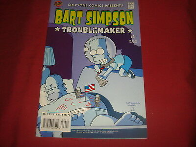 BART SIMPSON #3  The Simpsons Bongo Comics USA EDITION 2001  NM/M