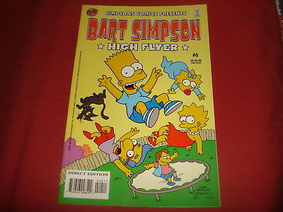 BART SIMPSON #6  The Simpsons Bongo Comics USA EDITION 2001  NM/M