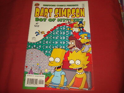 BART SIMPSON #7  The Simpsons Bongo Comics USA EDITION 2001  NM/M