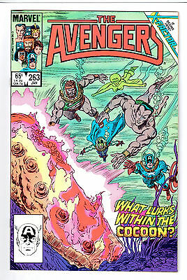 Avengers # 263 NM+ 9.6 WHITE Pages : 1st App X-Factor : Pre-Dates Factor #1