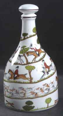 Crown Staffordshire HUNTING SCENE Decanter 6317523