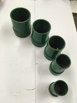 "Greenlee Threaded Couplings 2"", 2 1/2"", 3"", 3 1/2"" and 4"""