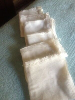 6 NEW 36x36 GAUZE CLOTH DIAPERS