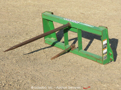 Frontier Bale Spear Tractor Front Loader Attachment Hay Production Ag bidadoo