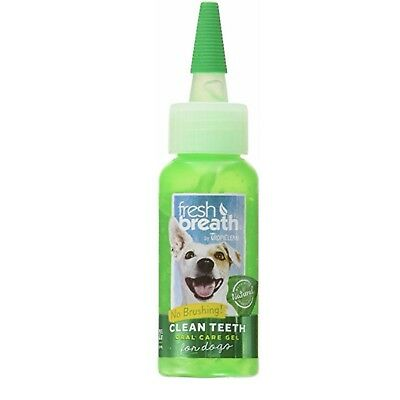 Tropiclean Fresh Breath | Clean Teeth Gel | Minty Flavor | For Dogs 2 Ounces