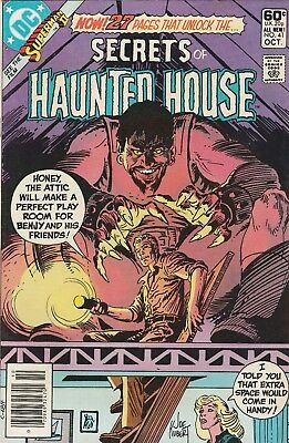 Secrets Of Haunted House #41 Signed By Bob Rozakis Plus #27 And 39 Unsigned!!