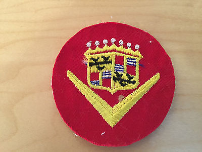 CADILLAC PATCH, 60'S, NEW OLD STOCK, NO BORDER,set of 2