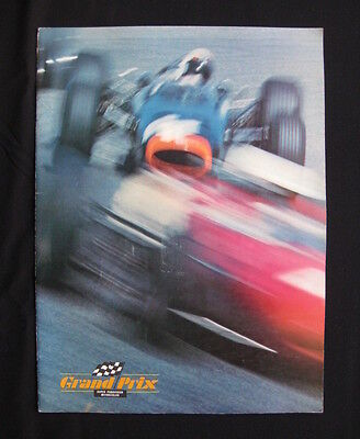 GRAND PRIX 1967 Orig movie programme James Garner Eve Marie Saint Ferrari F1 car