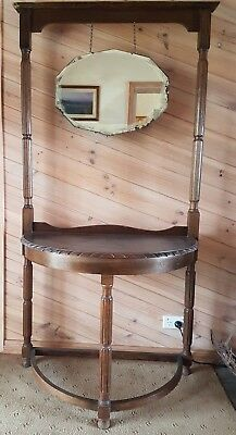 Used T H Brown & Sons Antique Hallstand with mirror