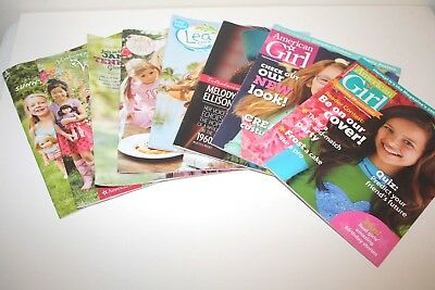 American Girl Catalogs Catalogues Magazines Lot Melody WellieWishers Lea Tenney