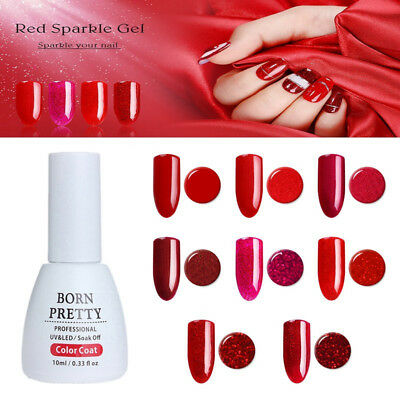10ml Vernis à Ongles Gel Polish Nail Art Semi Permanent Manucure UV BORN PRETTY