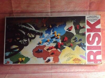 RISK by PARKER Brothers Vintage Board Game Strategy Game