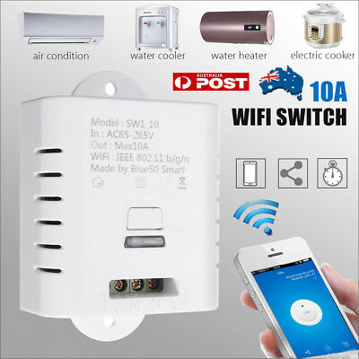 WiFi 1-CH Smart APP Switch Timer Module for Google Home Voice Control LD1255