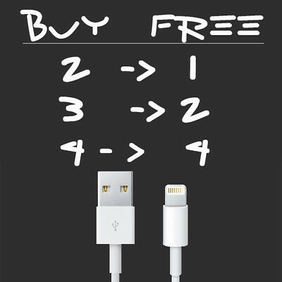Original Genuine Lightning USB Cable Charger For OEM Apple iPhone 5 6 7 S PLUS