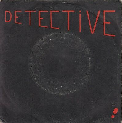 """Detective 7"""" French  NEW WAVE GOTH SYNTH COLDWAVE"""